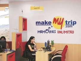 Make My Trip process walkin interview for FRESHERS in Delhi & NCR .  J