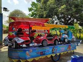 odong mainan edukasi eskavator mini beko 003 kereta wisata