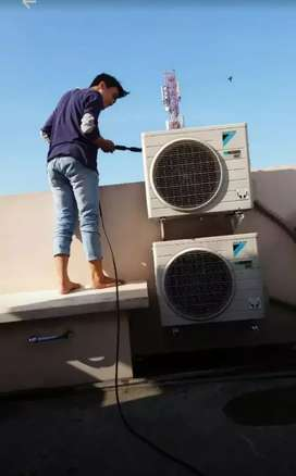 Service ac, cuci ac dan instalasi listrik