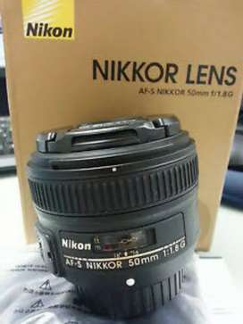 Nikon 50mm f1.8 Lens