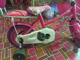 sepeda anak ban karet tidak berucus,