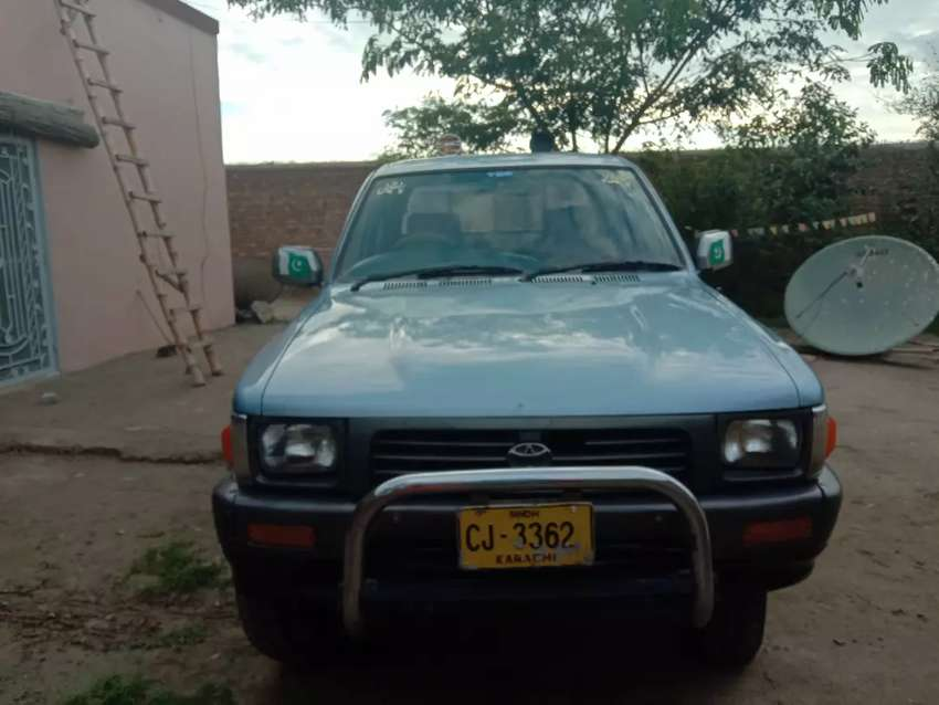 Double cabin toyota hilux 4×4 Model 1993 0