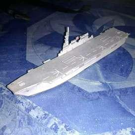 Papercraft Aircraft carrier Hyuga