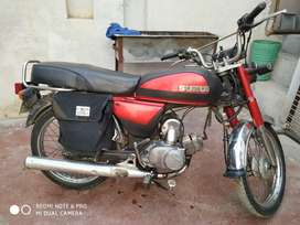 Suzuki 80cc (A-80) Semurai (Made in Japan) 2 stroke