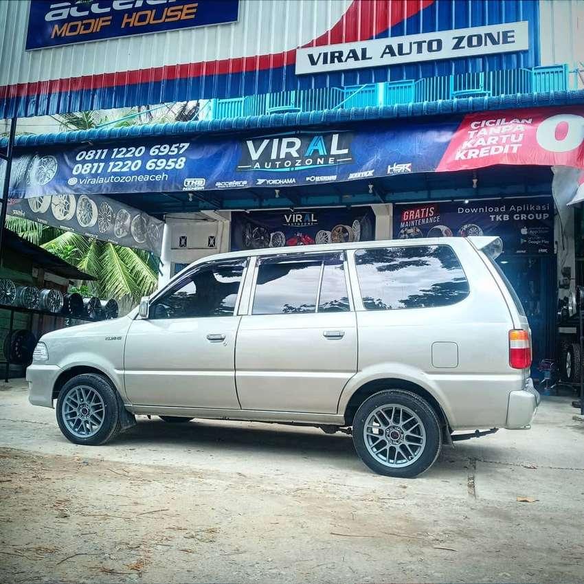 Velg Mobil Kijang racing r16 HSR bisa dicicil ditoko Velg Mobil Aceh 0