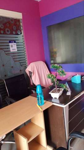 Well maintained beauty parlor ready to sale with good condition