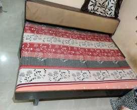 Sofa cum bed along with matress