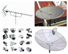 Pasang antena tv uhf dan parabola - Chanel  Lokal Terbaik
