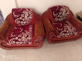 3 piece sofa set + table