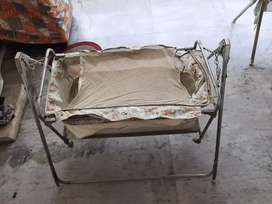 Baby Cradle/Swing/Jhoola with beddings