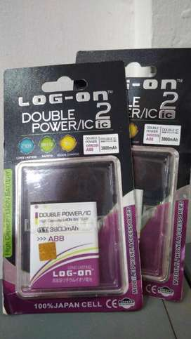 Baterai Double Power Evercoss A88 original log on 3800 mAh
