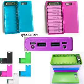 Powerbank Box Powerful 8 Cell Casing