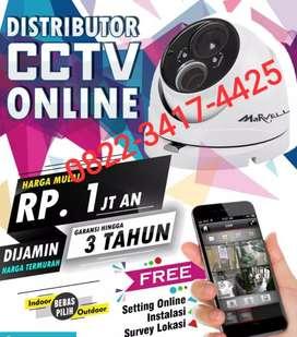 Menjual CCTV FULL HD JERNIH anti maling