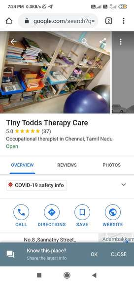Tiny tods therapy care