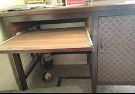 Pure Sheesham talli wood Study table with chair