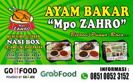 Nasi Box Ayam Bakar Mpo Zahro