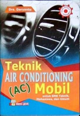 Buku teknik air conditioning (AC)Mobil