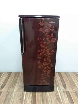 Samsung Red flower model 5star rating 190ltr single door refrigerator