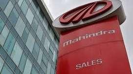 Mahindra motors Company hiring fresher and experience. Male candidates