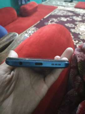 Oppo A9 2020 fresh condition blue shape