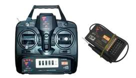 ZFT-6 2.4G transmitter + Receiver 6 channel remote control