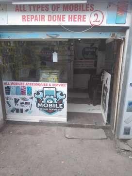 Sale running mobile shop not shop of shop business for sale