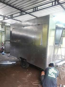Food Truck, Booth, Gerobak, Trailer, Custom