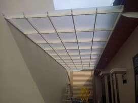 Canopy, balcon, pagar dll