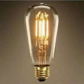 LAMPU LED FILAMEN 4 WATT EDISON 4W ST64 G45