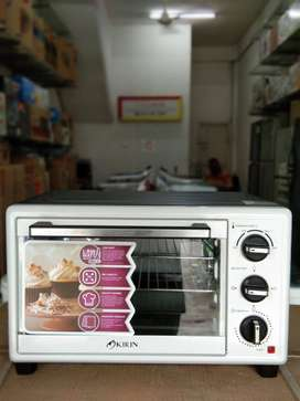 Oven KIRIN 19L KBO19L (low watt 275watt) Gratis Ongkir bayar dirumah