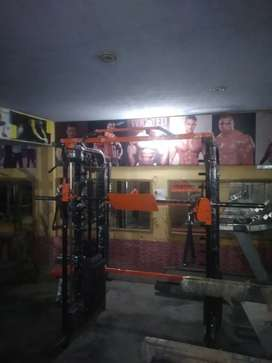 Smith machines and functional trainer