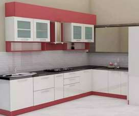 Kitchen set minimalis lemari rak tv dll