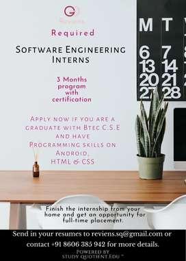 Software Engineering Internship