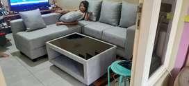 Sofa retro minimalis puff