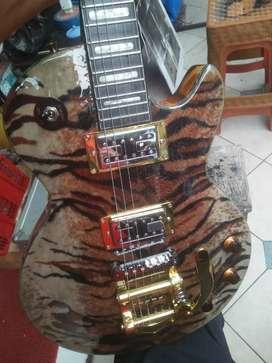 Gitar elektrik bigsby HAGSTROM swedia motif Special