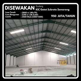 Gudang Siap Pakai Kawasan Industri Candi Gatot Subroto Semarang Tugu