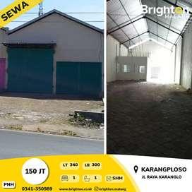 Gudang Malang   Warehouse FOR LEASE INDONESIA   Gudang di KARANGPLOSO