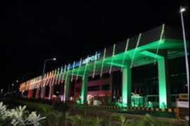Make your career Cashier and Ground Staff in Belgaum Airport