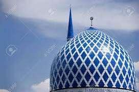 Kubah Masjid Jasa Pembuatan dan Pemasangan bahan GRC