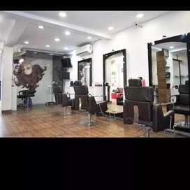Looking unisex/Male  hair dresser for repueted salon in malviya nagar