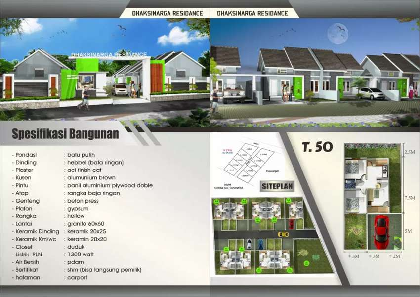 Rumah baru Premium Minimalis, dikota Wonosari,utara Terminal.Wonosari 0