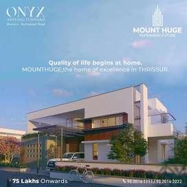 Luxury contemporary villas in thrissur