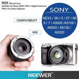Lensa Meike 35mm f/1.7 for sony mirrorless