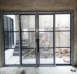 """Kusen alumunium kaca pintu jendela dan partisi """"2993"""