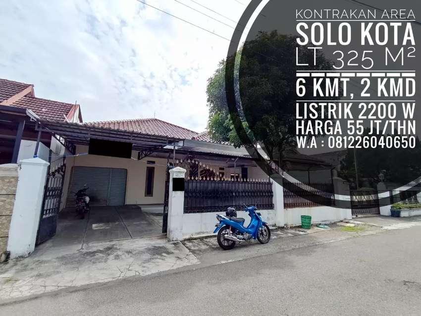 Kontrakan Area Solo Kota, Dekat Mall, RS, Pintu Tol