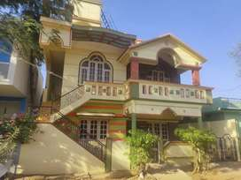 Semi furnished duplex house with individual out house