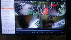 Fulset hikvision 3,3jt paket pasang 4 camera 2mp free