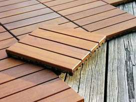 Ipe Wooden Deck Tiles
