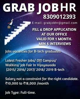 GRAB JOB HR - Jobs Consultancy