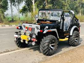 Open modified heavy willy jeeps
